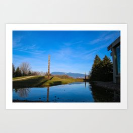 light, shadow, reflection Art Print