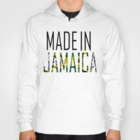 jamaica Hoodies featuring Made In Jamaica by VirgoSpice