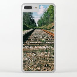 The road ahead Clear iPhone Case