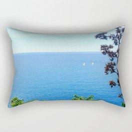 Sunday Sailing Rectangular Pillow