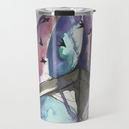 Swooping Swift Sky Travel Mug