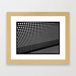 Dotted Framed Art Print