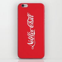 netflix iPhone & iPod Skins featuring Netflix and chill cola by BomDesignz