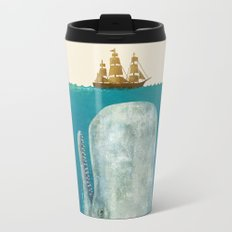 The Whale - colour option Metal Travel Mug