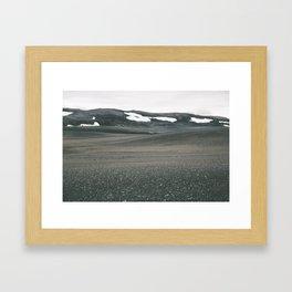 Moon Dunes Framed Art Print