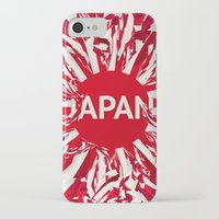 japan iPhone & iPod Cases featuring Japan by Danny Ivan