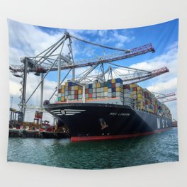 Containers Wall Tapestry