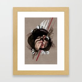 HELEN Framed Art Print