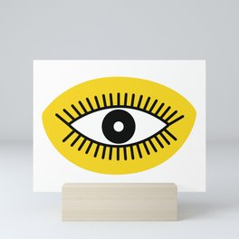 Opened Eye Mini Art Print