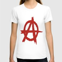 anarchy T-shirts featuring Anarchy by ArtSchool