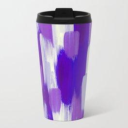 Purple Cora Travel Mug