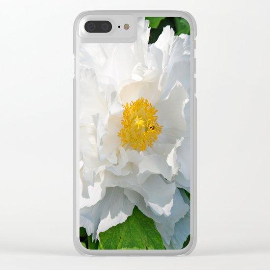 Open Beauty Clear iPhone Case