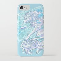 daunt iPhone & iPod Cases featuring Frost Bite by Daunt