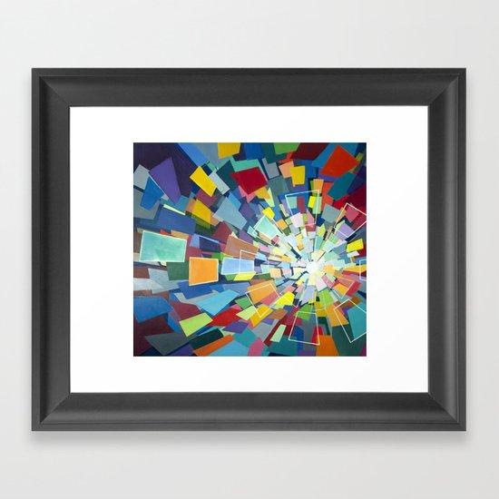 Quantum Kaleidoscope Framed Art Print