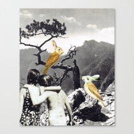 the adventures of non & sens Canvas Print