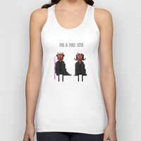 sith Tank Tops featuring Mr & Mrs Sith by Simon Alenius