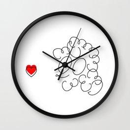 PoodleDog Wall Clock