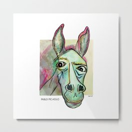 Pablo Pic-Ass-O Metal Print
