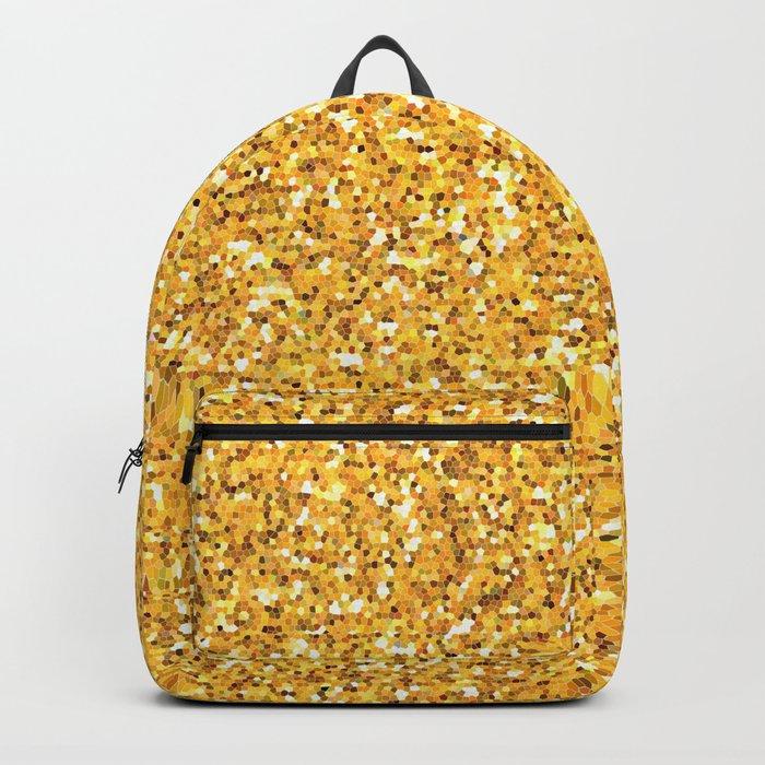 Yellow shine Backpack