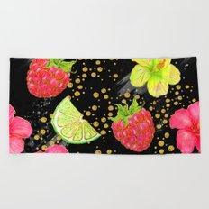 Summer Glitter #12 Beach Towel
