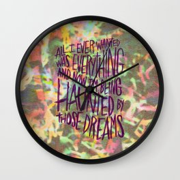 KING TUFF Wall Clock