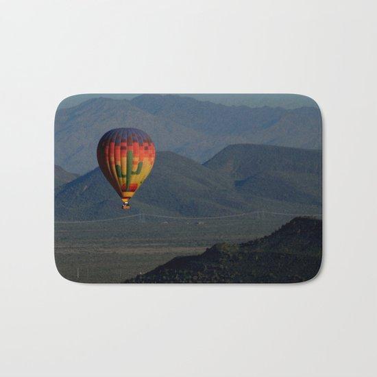 Hot Air Balloon over Arizona Morning Bath Mat