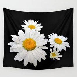 Think Flowers - Shasta Daisies Wall Tapestry