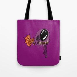 The Purple Fanged Deep Sea Dweller Tote Bag