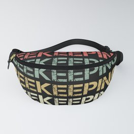 Retro Beekeeping Bees Gift for Beekeeper Fanny Pack