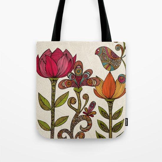 In the garden Tote Bag