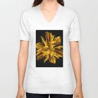 big bang V-neck T-shirts featuring Big Bang by Art-Motiva