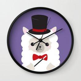 Alpaca - Magician Wall Clock