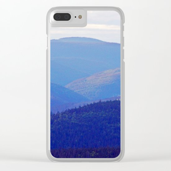 Rolling Hills of the Peninsula Clear iPhone Case
