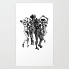 Ya'll Can't Handle The Femme Power Art Print
