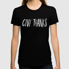 Give Thanks x Mustard T-shirt