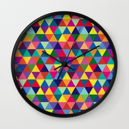 Geometric Pattern #6 Wall Clock