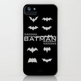 Gotham City Evolution of the Bat iPhone Case