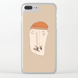 BATTERY BOY Clear iPhone Case