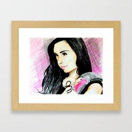 AJ Lee Framed Art Print