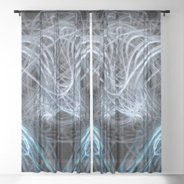 Cats Cradle Sheer Curtain