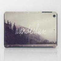 wanderlust iPad Cases featuring Wanderlust by Christine Hall