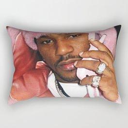 Cam'ron Pink Fur mood Rectangular Pillow