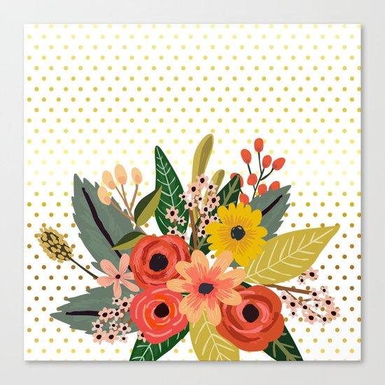 Flowers bouquet #1 Canvas Print