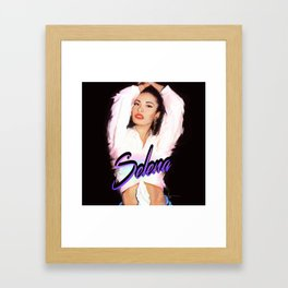SelenaQuintanilla Framed Art Print
