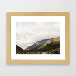 Crow Pass, Anchorage AK Framed Art Print