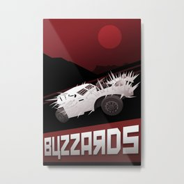 Mad Max - Buzzards Metal Print