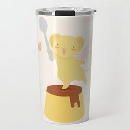 Purin Pudding Travel Mug