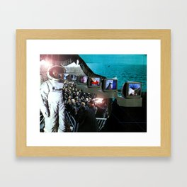 Out to See Framed Art Print
