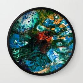Mini World Environmental Blues 1 Wall Clock