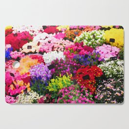 Flower Stall Cutting Board